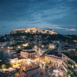 Noční Řecko